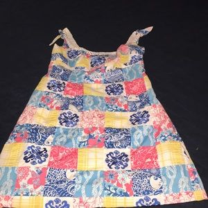 Lilly Pulitzer quilted dress size 2